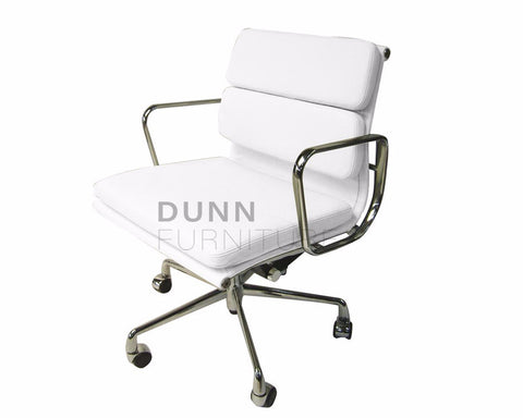 Soft Pad Management Boardroom Chair Eames Replica White Task Chairs Dunn Furniture - Online Office Furniture for Brisbane Sydney Melbourne Canberra Adelaide