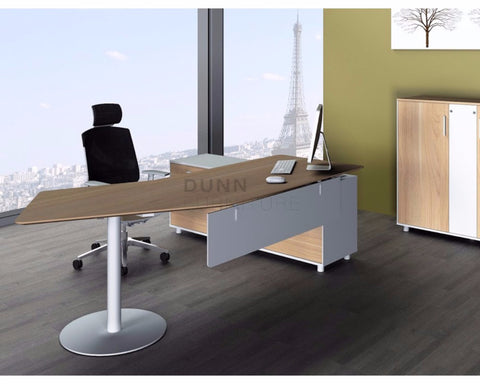 Dexter Modern Executive Office Desk Left Return Executive Desks Dunn Furniture - Online Office Furniture for Brisbane Sydney Melbourne Canberra Adelaide