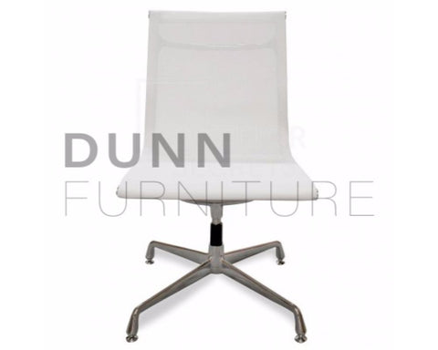 Visitor Mesh Office Chair Eames Replica White Visitor Chairs Dunn Furniture - Online Office Furniture for Brisbane Sydney Melbourne Canberra Adelaide