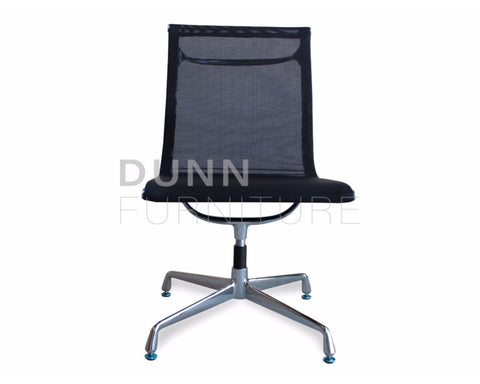 Visitor Mesh Office Chair Eames Replica Black Visitor Chairs Dunn Furniture - Online Office Furniture for Brisbane Sydney Melbourne Canberra Adelaide