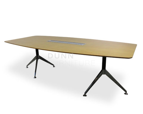 Python Boardroom Table in Oak Boardroom Tables Dunn Furniture - Online Office Furniture for Brisbane Sydney Melbourne Canberra Adelaide