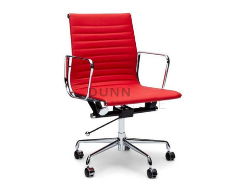 Management Leather Office Chair Eames Replica Red Task Chairs Dunn Furniture - Online Office Furniture for Brisbane Sydney Melbourne Canberra Adelaide