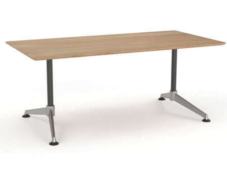 OLG Modulus Meeting Table Beech Meeting Tables Dunn Furniture - Online Office Furniture for Brisbane Sydney Melbourne Canberra Adelaide
