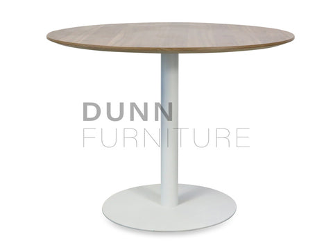 Tempo Round Meeting Table Walnut Meeting Tables Dunn Furniture - Online Office Furniture for Brisbane Sydney Melbourne Canberra Adelaide