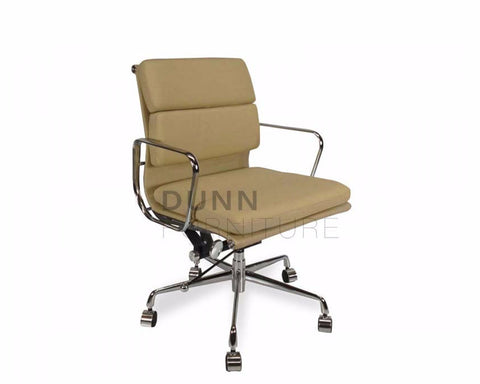 Soft Pad Management Boardroom Chair Eames Replica Light Brown Task Chairs Dunn Furniture - Online Office Furniture for Brisbane Sydney Melbourne Canberra Adelaide