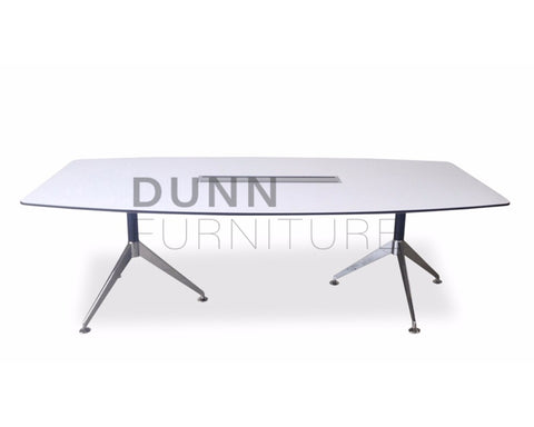 Python Boardroom Table In White Boardroom Tables Dunn Furniture - Online Office Furniture for Brisbane Sydney Melbourne Canberra Adelaide