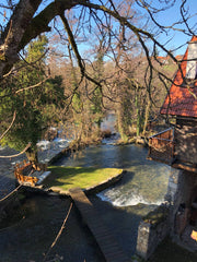 Uppermoda visits the waterfalls of Rastoke