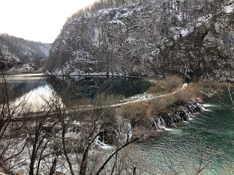 Uppermoda visits the waterfalls of Plitvice Lakes