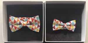 [product-type] - Bronte Beach Bow Tie | Matching Men's & Children's Bow Tie - Uppermoda