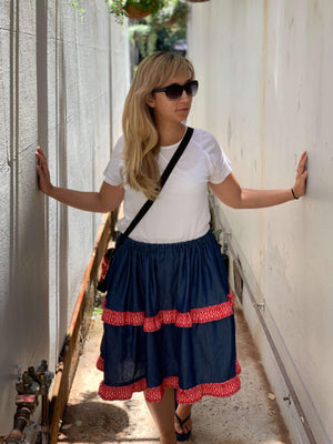 Croatian Layered Skirt - Krka (PRE-ORDER) Skirt Uppermoda
