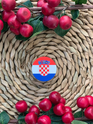 Croatian Phone Pop-Sockets Pop-Socket Uppermoda Croatian Flag