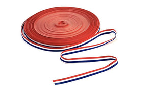 Croatian Red, White and Blue Ribbon 10mm x 50metres Ribbon Uppermoda