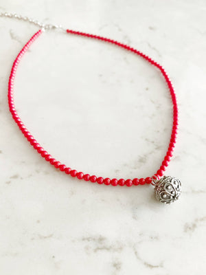 Croatian Šibenik Botun Coral Necklace necklace Uppermoda