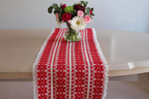 Croatian Table Runner 35cm x 140cm - četiri srca (four hearts) Table Runner Uppermoda