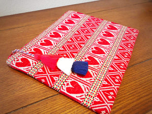 Croatian Traditional Design Clutch - Clutch My Heart! handbag Uppermoda