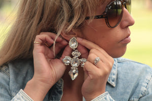 Cross Earrings | Florence earrings Uppermoda
