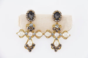 Cross Earrings | Rome earrings Uppermoda