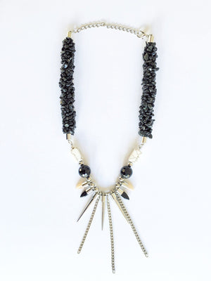 Dancing Queen Statement Necklace necklace Uppermoda