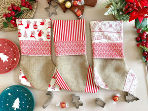Handmade Croatian Christmas Stockings Christmas Stockings Uppermoda
