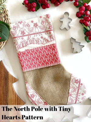 Handmade Croatian Christmas Stockings Christmas Stockings Uppermoda The North Pole