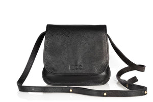 Leather Handbag | Monkey Bag Collection | Black handbag Uppermoda