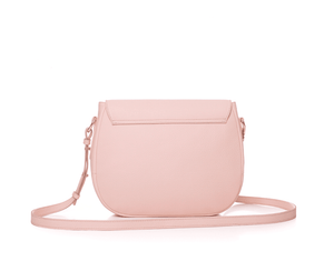 Leather Handbag | Tasnica Collection | Baby Rose handbag Uppermoda