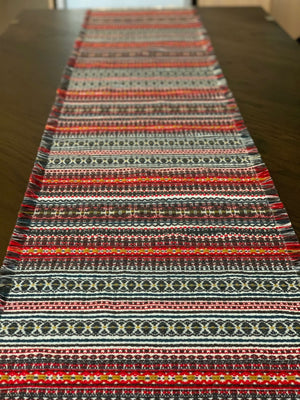 Long Croatian Table Runners - Multiple Sizes - Autumn Folklore Table Runner Uppermoda