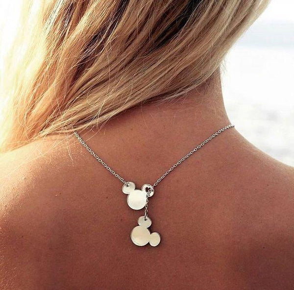 Mickey Mouse Pendant Fine Necklace necklace Uppermoda