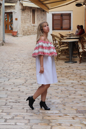 Off the shoulder Croatian dress - Hvar Dress Uppermoda
