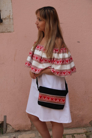 Off the shoulder Croatian dress - Hvar Dress Uppermoda M
