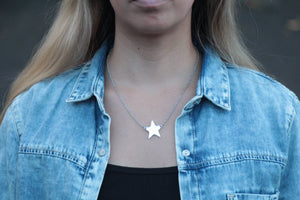 Star Pendant Fine Necklace necklace Uppermoda