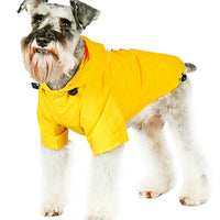 Yellow Explorer Windbreaker Sport Dog Jacket