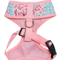 Vintage Rose Floral Dog Harness