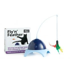 Ruff 'N' Tumble Fly 'N' Feather Cat Toy