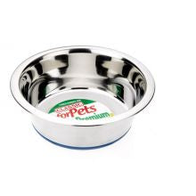 Classic Non Slip Steel Dog Dish 1600ml