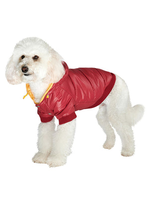 Wine Red PathFinder Insulated Panel Dog Jacket