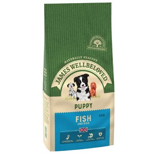 James Wellbeloved Ocean Fish and Rice Puppy 2kg Dog Food