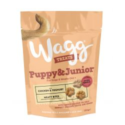 Wagg Puppy and Junior 7 x 120g Dog Treats