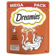 Dreamies Cat Treats with Tasty Chicken Mega Pack