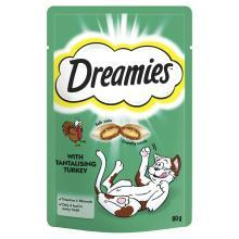 Dreamies Cat Treats with Tantalising Turkey