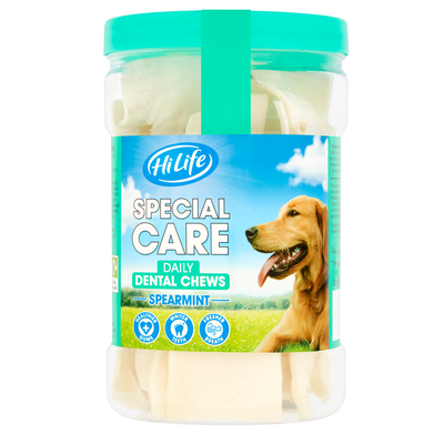 Special Care Daily Dental Dog Chews Spearmint by Hi Life