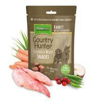 Country Hunter Freeze Dried Rabbit with Cranberry Dog Snacks