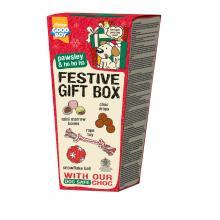 Pawsley Festive Gift Box for Dogs