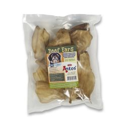 Antos Cows Ears Beef Dog Chew 10PK