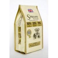 Simpsons 80/20 Mixed Fish Dog Food 2kg