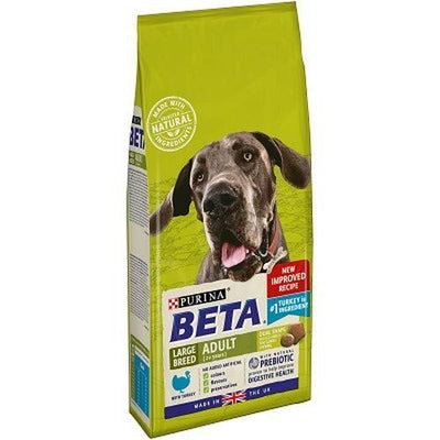 BETA Adult Large Breed Dry Dog Food Turkey 2kg