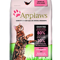 Applaws Dry Cat Food Adult Chicken with Salmon 400g