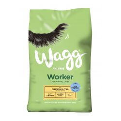 Wagg Worker Chicken 16kg Dog Food