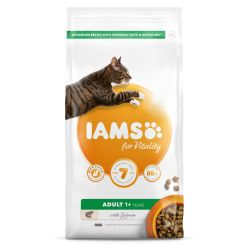IAMS for Vitality Adult Cat Food with Salmon 2kg