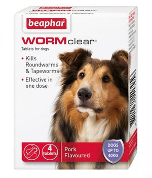 Beaphar WORMClear for Large Dogs up to 40kg